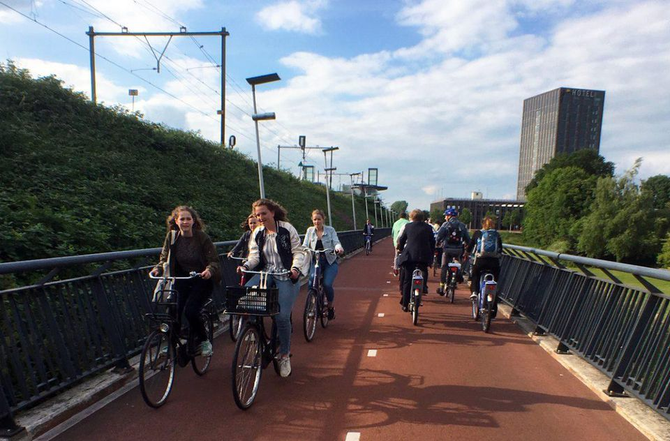 How Utrecht is becoming the new paradise for bicycles 100%